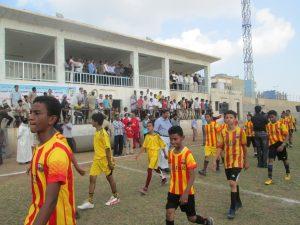 إفتتاح البطولةالمدرسية 1 300x225 إفتتاح  البطولة الرياضية المدرسية لكرة القدم على كأس المحافظة بالحديدة