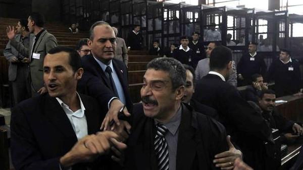 الاخوان2 براءة جميع متهمي الإخوان في أحداث رمسيس الأولى