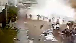 الانفجار القاعدة تتبنى الهجوم الانتحاري الذياستهدف تجمع الحوثيين