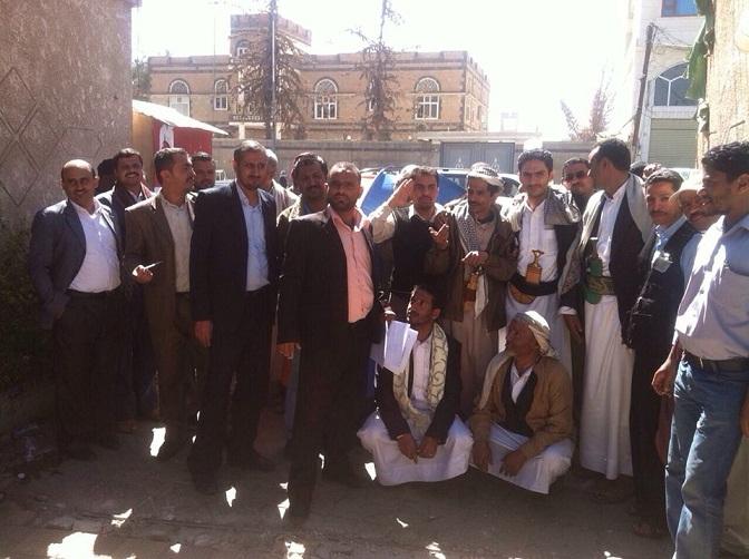 الاوقاف1 موظفو اوقاف امانة العاصمة يطالبون بتطبيق القوانين ويواصلون اضرابهم