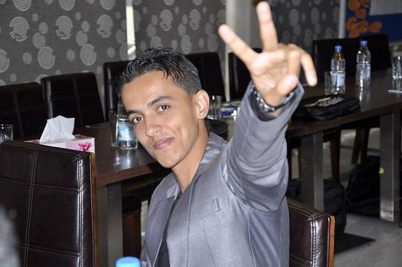 البعداني1 الشاب عبدالله البعداني يحصل على جائزة العمل التطوعي للشباب من الامم المتحدة....