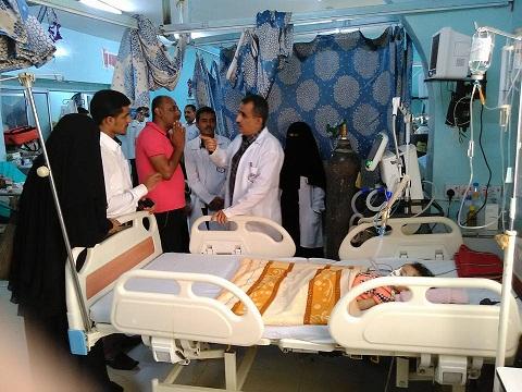 الثوره2 مدير مكتب منظمة الصحه العالميه بالحديده يزور هيئة مستشفى الثوره