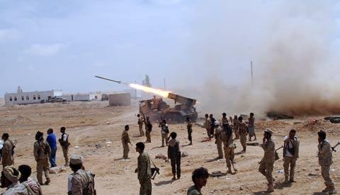 الجيش3 وحدات القوات المسلحة والأمن تواصل ملاحقاتها للإرهابيين في محافظة شبوة
