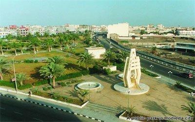الحديدة(4) مناقشة قضية الاعتداء على أراضي حرم مطار الحديدة