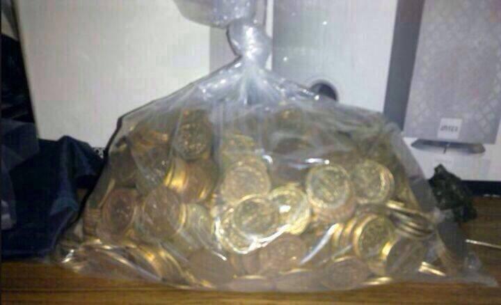 الحفار1 يمني يعثر على ذهب قارون (صور)
