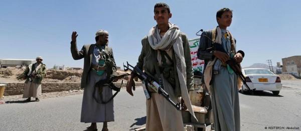 الحوث1 مسلحون حوثيون يختطفون مدير الأمن الداخلي بجهاز المخابرات اليمنية
