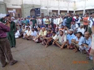 السجناء 300x224 سجين يحاول الأنتحار بالحديدة