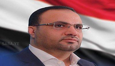 الصماد رئيس المجلس السياسي الأعلى يستقبل رئيس واعضاء اللجنة العسكرية والأمنية