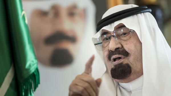 العاهل2 العاهل السعودي يتبرع بنصف مليار دولار للشعب العراقي
