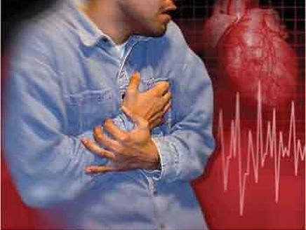 القلب ضغط العمل يزيد من احتمال الإصابة بذبحة قلبية
