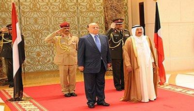 الكؤيت رئيس الجمهورية يصل الكويت للمشاركة في أعمال القمة العربية الخامسة والعشرين