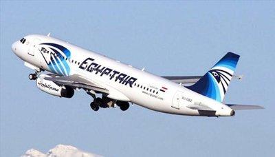 المصريه1 طائرة مصر للطيران تحطمت في الجو بعد اندلاع حريق بداخلها