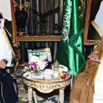 ماذا طلب امير قطر من الملك السعودي؟