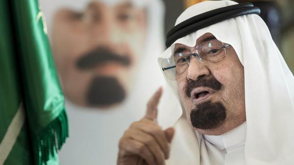 الملك عبدالله العاهل السعودي يتبرع بـ35 مليون دولار لكبح إيبولا