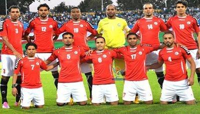 المنتحب منتخب اليمن لكرة القدم يواجه غدا المالديف في ملحق تصفيات كأس آسيا