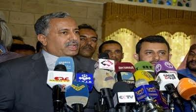 الوفدد الوفد الوطني المشارك في مفاوضات الكويت يعود الى صنعاء