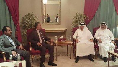 الوفد الوفد الوطني يلتقي أمين عام مجلس التعاون الخليجي