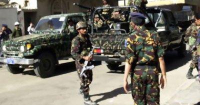 امن الأجهزة الأمنية بأمانة العاصمة تضبط عدد من المواد المتفجرة