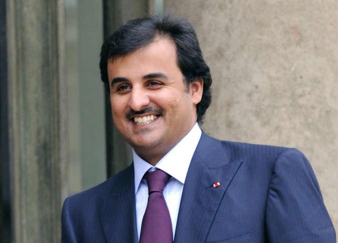 امير قطر أمير قطر يبحث مع بلاتر إمكانية إقامة مونديال 2022 في نوفمبر وديسمبر