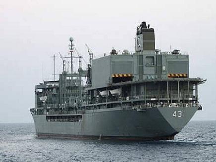 ايران(1) سفن إيرانية في سواحل السودان بعد ضربة إسرائيل