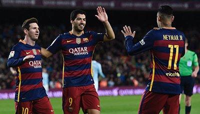 برشلونه برشلونة يثأر من سلتا فيغو بسداسية وأتلتيكو يستعيد الوصافة