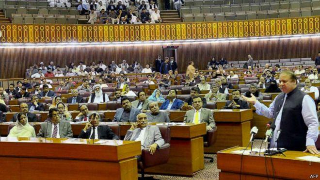 برلمان باكستان باكستان ترفض طلب السعودية تقديم دعم عسكري في حرب اليمن