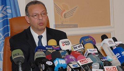 بنعمرر2 بنعمر يعلن التوصل لإتفاق لحل الأزمة الحالية في اليمن