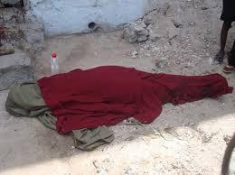 جثه الحديدة:مواطنون يعثرون على جثة شابة عليها آثار ضربات بآلة حادة في الرأس وحروق في مبنى مهجور