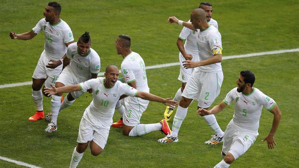 جزائر1 فغولي يحرز أول هدف جزائري بالمونديال منذ 28 عاماً