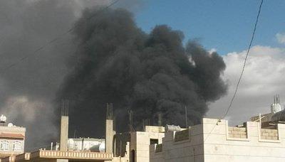 خروقات1 طيران العدوان السعودي ومرتزقته يواصلون خرق وقف إطلاق النار