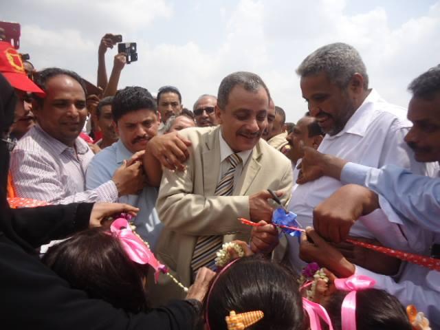 رئيس الجامعه1 رئيس جامعة الحديدة يفتتح كلية العلوم والادارة بمديرية بيت الفقية