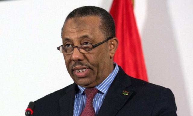 رئيس الحكومه الليبيه رئيس الحكومة الليبية المؤقتة عبد الله الثني يعتذر عن قبول تكليفه بتشكيل حكومة جديدة