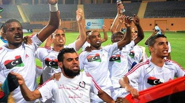 رياضه8 ليبيا تحتفل بتتويج منتخبها ببطولة إفريقيا