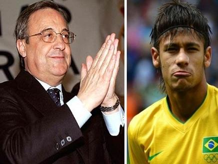 ريال1 رئيس الريال لرئيس برشلونة: خذ 50 مليون يورو واترك نيمار