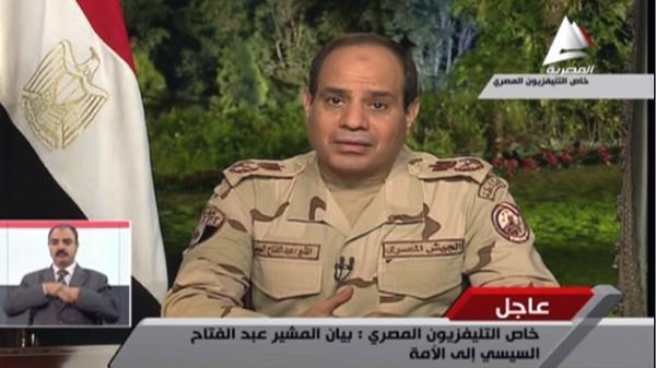 سي4 عبدالفتاح السيسي رئيساً لمصر رسمياً بـ 23 مليون صوت
