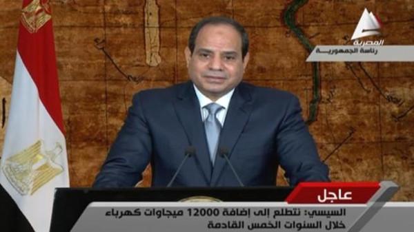 سي9 الرئيس المصري يؤكد ضرورة التوصل لتسوية عاجلة في اليمن