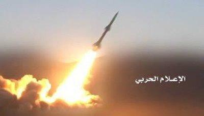 صاروخع عاجل.. اطلاق صاروخ باليستي على شركة أرامكو السعودية في جيزان