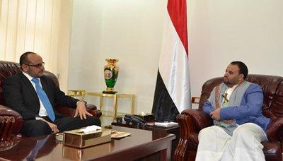 صا رئيس المجلس السياسي الأعلى يلتقي محافظ لحج