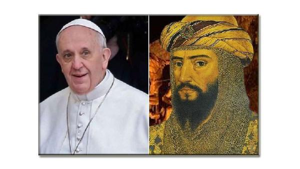 صلاح بإذن من صلاح الدين يدخل البابا الأحد إلى أهم كنيسة