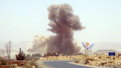ضربه واشنطن بوست : السعودية إستخدمت قنابل الفوسفور الأبيض الحارقة في اليمن