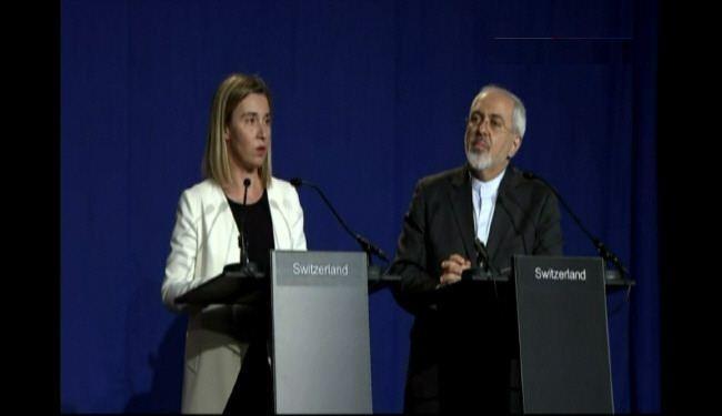 ضريف أهم نقاط الاتفاق بين ايران و5+1 على لسان ظريف وموغيريني