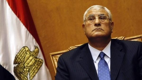 عدلي1 منصور: الدستور الجديد ينهي أسطورة الرئيس الفرعون