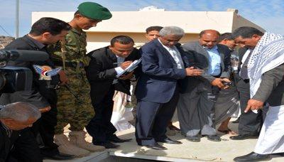 عز شريم يتفقد عدد من المرافق التابعة لوزارة المياه والبيئة بمحافظة ذمار