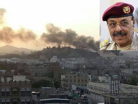 علي محسن1 إعلان من جماعة الحوثي بخصوص اللواء محسن والفرقة الأولى «المنحلة»