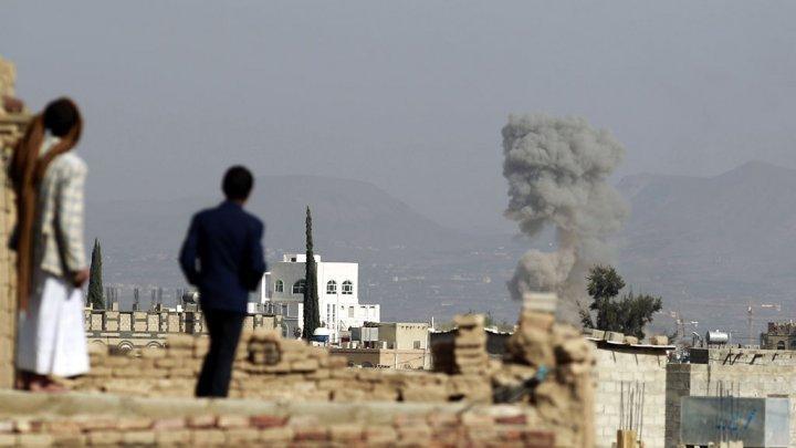 غاره طيران العدوان السعودي يواصل غاراته الإجرامية على عدد من المحافظات