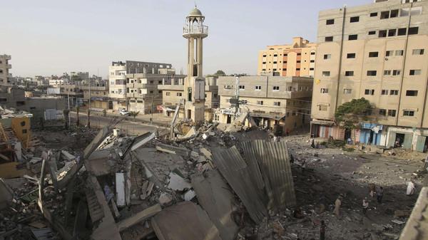 غزة غزة: 21 قتيلا حصيلة الغارات اليوم السبت