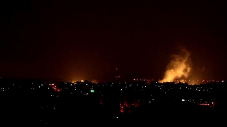 غزهه الجيش الإسرائيلي يبدأ عملية برية كبيرة في قطاع غزة