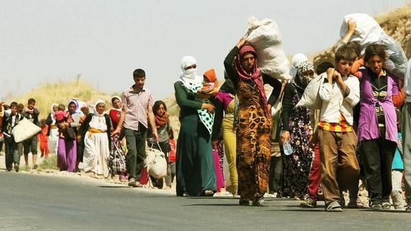 فتيات داعش داعش يبيع فتيات العراق بــ25 دولاراً كـهدايا