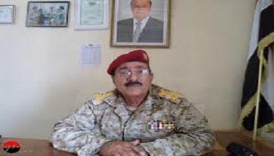 قائد اللواء قائد اللواء 115 مشاة ينفي أخبار استهداف أفراد اللواء