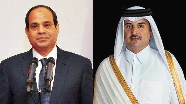 قطرررر قطر تهنئ السيسي بمناسبة أدائه اليمين الدستورية